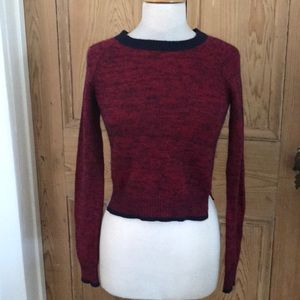 Theory cashmere blend cropped sweater, petite, $40
